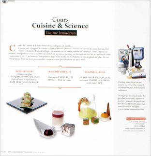 Arts & gastronomie n° 20 - Hiver 2011