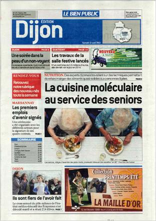 Le Bien Public , 13/04/2013