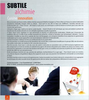 La Bourgogne à croquer, 2013