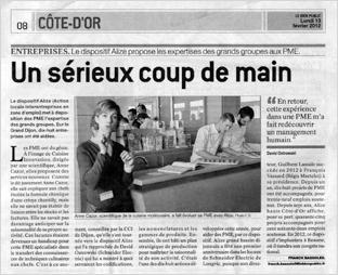 Le Bien Public , 13/02/2012