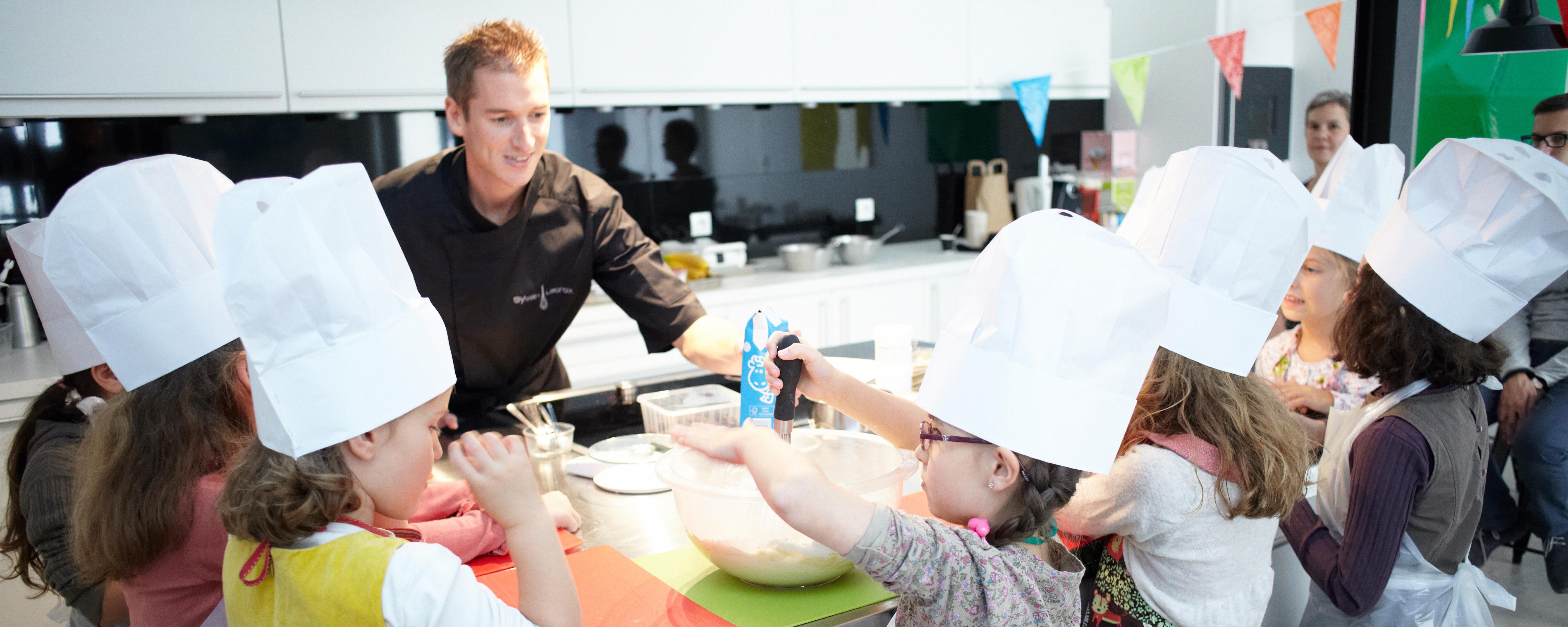 Cours de cuisine pour les enfants