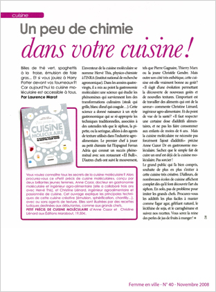 Femme en Ville, n° 40 - 11/2008