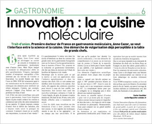 La Gazette n° 206 - 10/06/2010