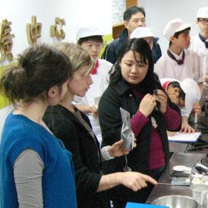 Démonstrations au salon du livre de Taïwan 2010